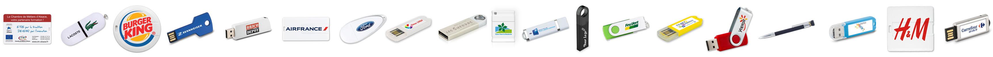 Clés USB personnalisées à votre logo