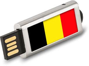 Clé USB personnalisée Belgique