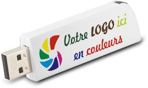 Clé USB Click personnalisée à votre logo